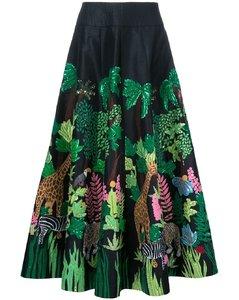 Safari长款半身裙