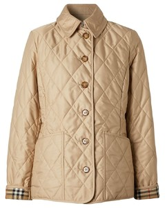 Diamond Quilted Thermoregulated Jacket