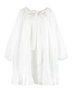 Puff-Sleeve Corset Dress
