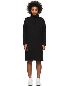 黑色Wakayo套头衫连衣裙