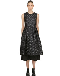 6 Moncler Noir Quilted Backless Dress