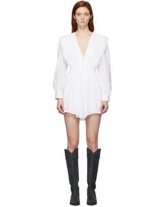 白色Yaxo连衣裙