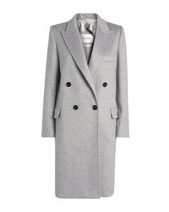 Alba Double-BreastedCashmere Coat