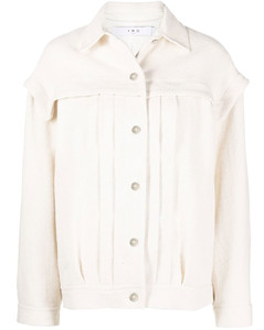 黑色4 Moncler Simone Rocha系列荷叶边连衣裙