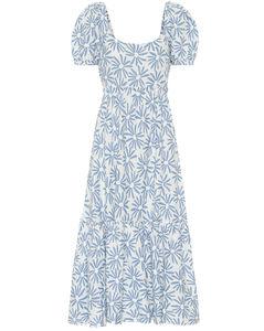 Mytheresa发售 —Kai亚麻中长连衣裙