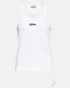 Printed Gauze Mini Dress