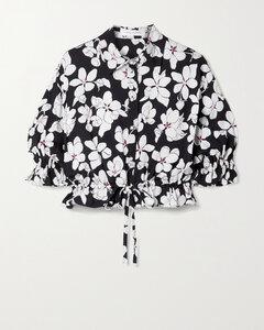 海军蓝&黑色衬衫式连衣裙