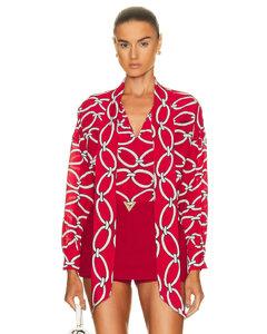窗格纹风衣感半身裙