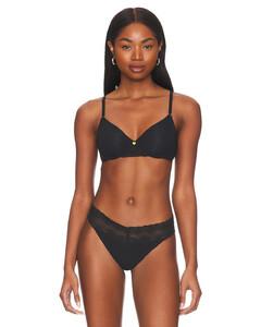 Aurelie silk-charmeuse gown