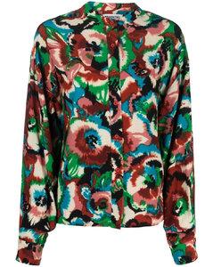 针织弹力真丝中长连衣裙