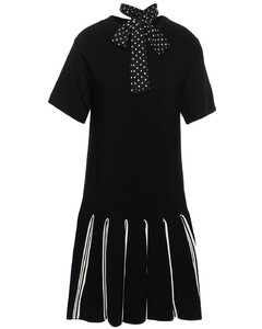 Silver mesh skirt