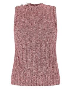 chain detail asymmetric dress