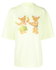 Toile Print Midi Skirt