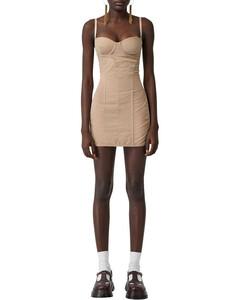 Tulle & Cotton Mini Dress