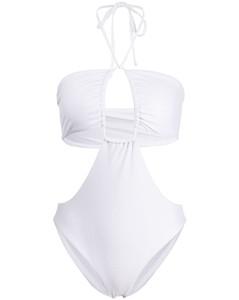 水晶缀饰豹纹丝缎中长连衣裙