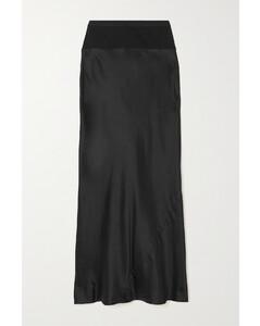 Satin衬衫裙