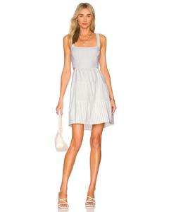 Fergus Viscose Velvet Dress