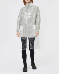 Women's Ltd Mackintosh Jacket - Transparent
