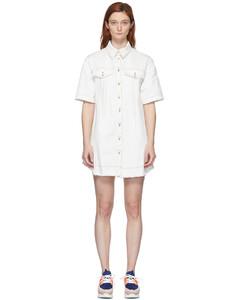 灰白色Stitch牛仔连衣裙