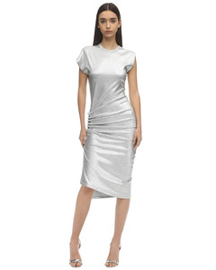 Stretch Lurex Dress