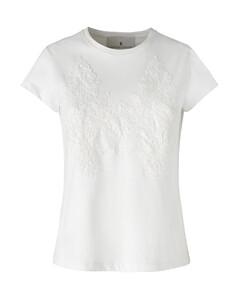Satin & Linen Jacquard Shirt Dress