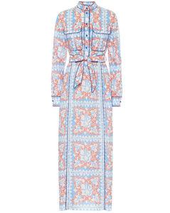 Mytheresa发售 — 印花棉质衬衫裙