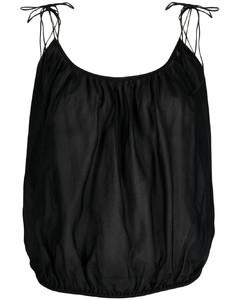 Peplum Drape Midi Dress