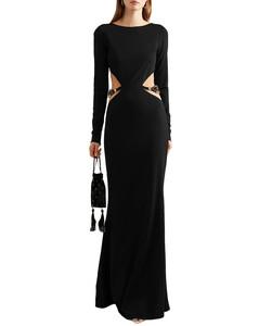 褶饰直筒半身裙