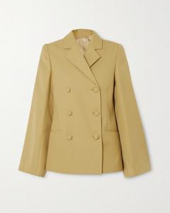 Matera双排扣梭织西装外套