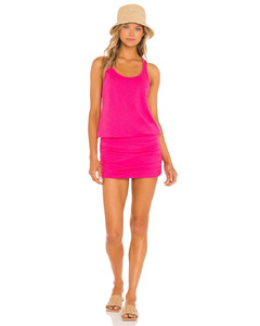TWISTED COTTON WRAP SKIRT