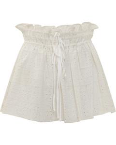 豹纹中长半身裙