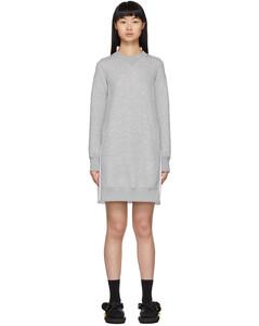 灰色Sponge连衣裙