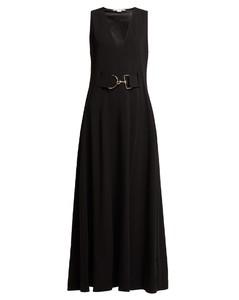 Belted cady dress