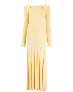 La robe maille Valensole long dress