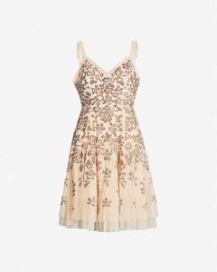 Valentina sequin-embellished chiffon dress