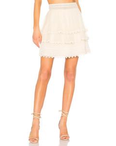 Buckle Nylon Skirt