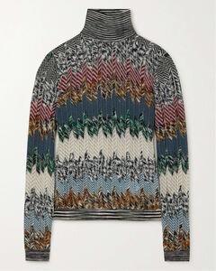 High-rise silk-satin skirt