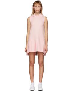 粉色Tennis无袖连衣裙