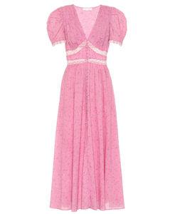 Mytheresa发售 — 花卉棉质中长连衣裙