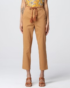 Monogram motif pleated silk skirt