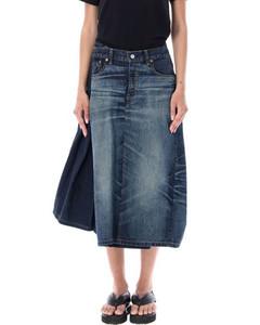 Tartan-printed plastic skirt