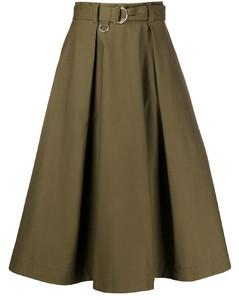 A字形百褶半身裙