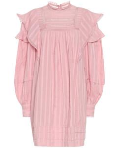 Patsy striped voile minidress