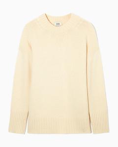 白色抽绳褶边苎麻连衣裙