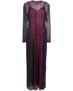 panelled midi skirt