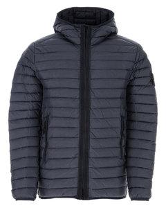 Leather & Lace Peplum Midi Dress