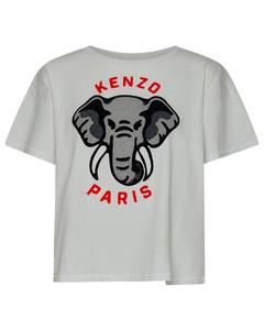 Printed Fil CoupéLong Dress