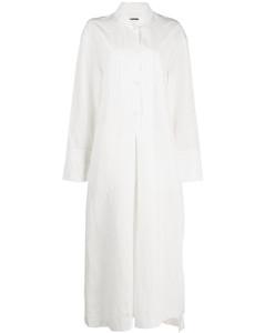 长款衬衫裙