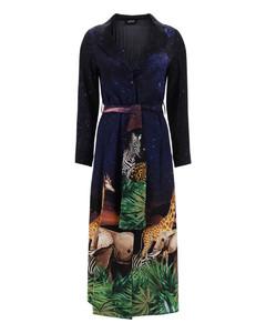 Mytheresa发售 — 花卉棉质府绸衬衫裙