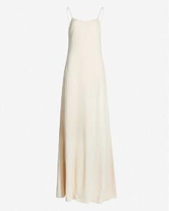 Ebbins scoop-neck crepe maxi dress
